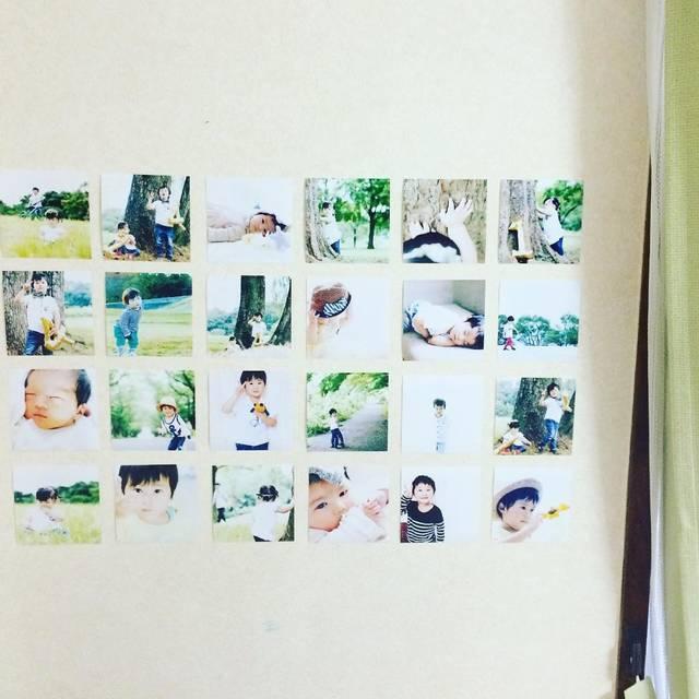 """*mido* on Instagram: """"* こっちはリビング。 カーテンが淡いグリーンなので、写真もグリーンと白っぽいものを集めました(*˙︶˙*)☆*°* おうちギャラリー green (笑) お近くの方はぜひ足をお運びください~(♡´艸`) *…"""" (83085)"""