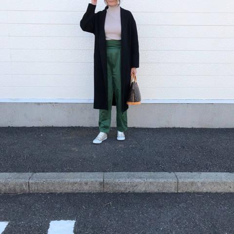 ベージュコンバースで大人カジュアルに♡|riemama☆大人シンプルコーデ♡ (84172)