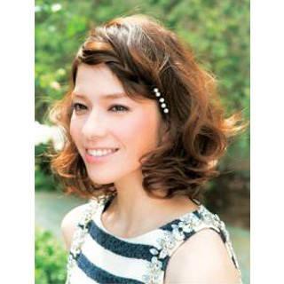 ツイスト前髪サイド寄せ | ヘアレシピ【頭美人】 (84332)