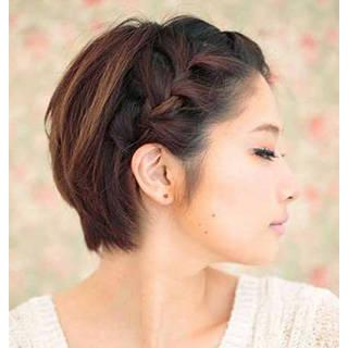 短くたっておしゃれできる。『ショートヘア女子』の浴衣に合うおすすめヘアアレンジ集♡ | GIRLY (84337)