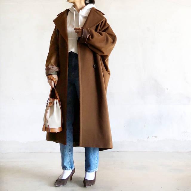 """acco on Instagram: """"⠀ #outfitoftheday …  やはりこのコートが好きすぎる♡︎ʾʾ 上下GUのどカジュアルコーデも これ着るだけで都会行けるわ🏙👍 ⠀ 今日は @miii_cooo とクリクロランチ🥞 予想通りわろーたわろーた☺️ #crisscross ⠀…"""" (85392)"""