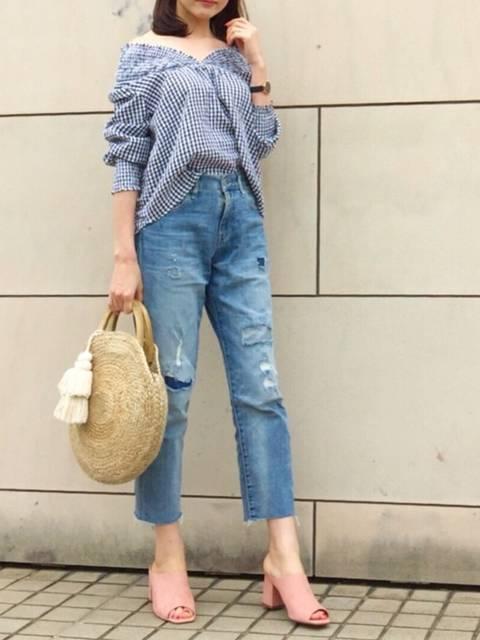 kyoooco♡|titivateのシャツ/ブラウスを使ったコーディネート - WEAR (86316)