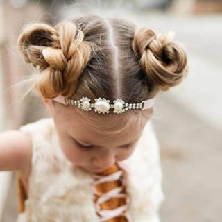 簡単可愛い女の子のヘアスタイル【子供】 (86357)
