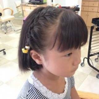 子供のヘアスタイル・編み込みを上手にできるようになりたい!| (86360)