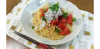 しらすとトマトの和風冷製パスタ by しまかぜしまちゃん 【クックパッド】 簡単おいしいみんなのレシピが285万品 (87470)