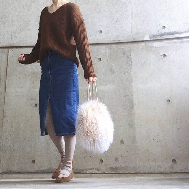 "@___ma.a.ya___ on Instagram: "". . ——————————————————— tops #gu bottom #zara lagging #uniqlo shoes #handm bag #anotheredition ——————————————————— . . ニットで出歩ける陽気 ありがたい☀︎ .…"" (88229)"