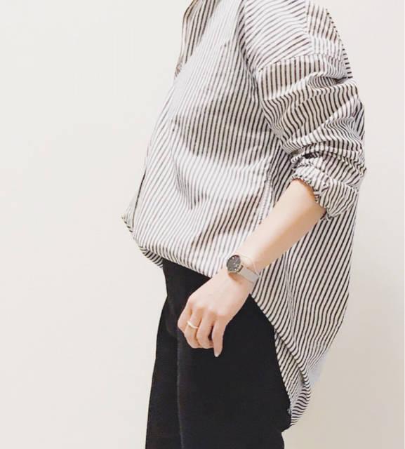 着るだけで抜け感が楽しめるUNIQLOのシャツ | アラフォーが着るプチプラファッションで作るコーデブログ (88457)
