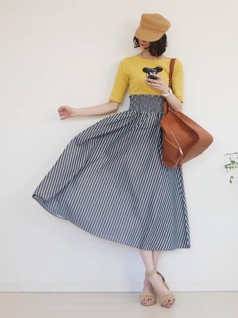 cocococco2525|GUのスカートを使ったコーディネート - WEAR (89780)