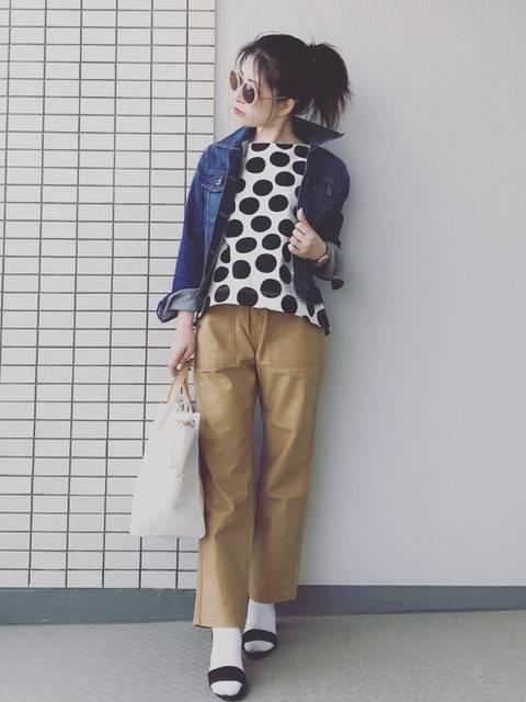 ♥hapiko♥|ユニクロのジャケット&コートを使ったコーディネート - WEAR (89781)