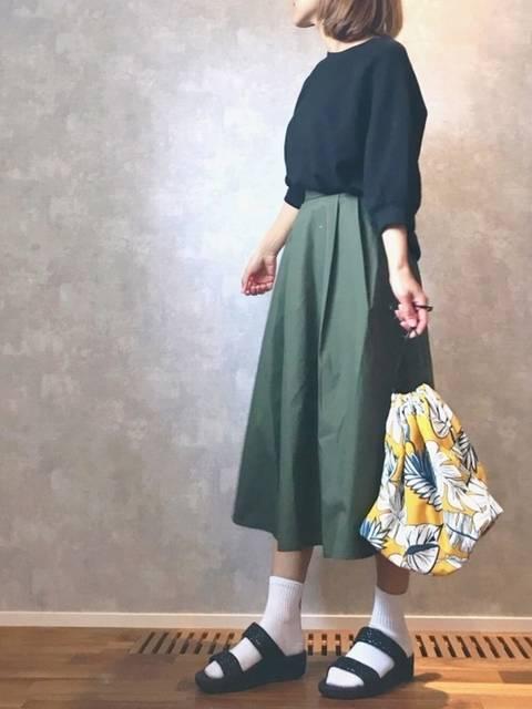 ☻ m♡ao*|GUのTシャツ・カットソーを使ったコーディネート - WEAR (90222)
