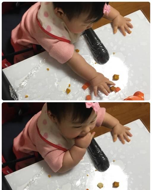 """Aya on Instagram: """". 離乳食を3回にするタイミングっていつなの? 何か目安ってあるのかな? とりあえず9ヶ月になってから? 、、、なんて最近考え中です😅 . 7ヶ月から#blw で頑張ってます😊 自分でやりたがりな性格なので、この方法がピッタリ✨✨ 離乳食の時間が楽しいみたいです😊😊…"""" (91612)"""