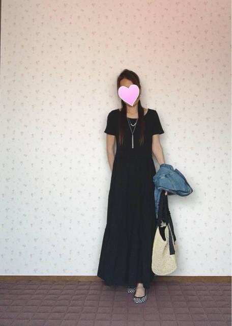 ♡《GU》ワンピ♡ でcoordinate  最近好きだな 笑 ♡ | ♡Natsumin Blog♡ (93028)
