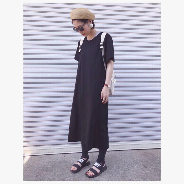 """♡saori♡ on Instagram: """". あつーー🌴⚡︎ . 汗じわる。 . 暑いのに真っ黒●●● . . このワンピよい〜😳❤️🙃 . .…"""" (94473)"""