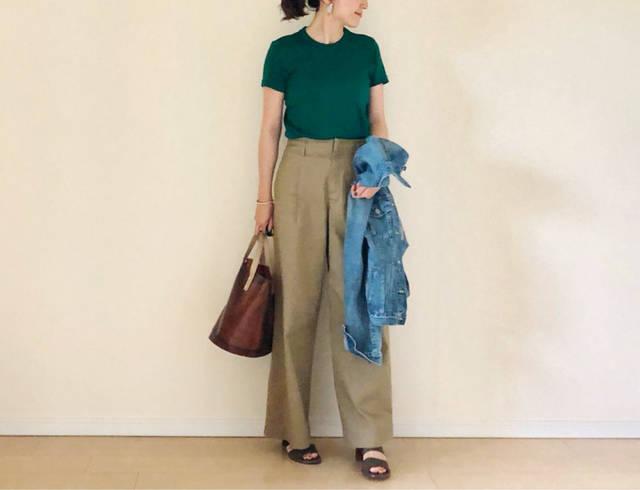 上下UNIQLOでも大満足☆ | 35歳からのプチプラを品良く着こなしたいファッションブログ (94793)