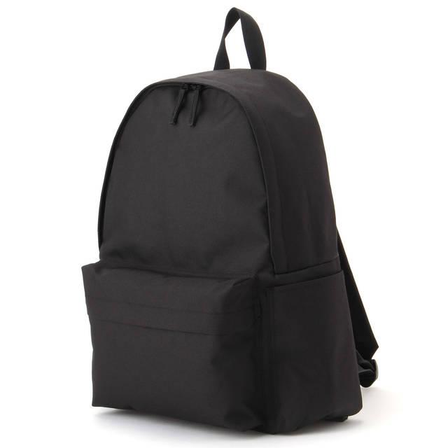 無印良品 | 肩の負担を軽くするPCポケット付リュック黒 通販 (95945)