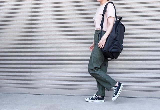 """@n.yu____mi on Instagram: """"楽ちんお仕事コーデ(^^)このGUのパンツ、プチプラなのに形綺麗で優秀💯#154cm で裾上げいらずのいい丈感です * * * tops:#ユニクロユー  bottom:@gu_for_all_  bag:#無印良品  shoes:#コンバース * * * #今日のコーデ…"""" (95949)"""