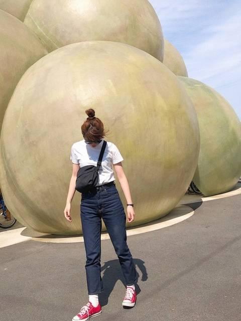 kani|ユニクロのTシャツ(半袖 ・タンクトップ)を使ったコーディネート - WEAR (96150)