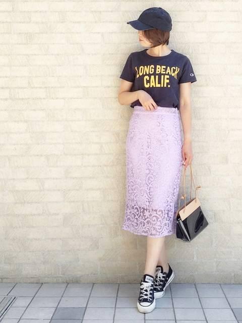 nana|SLOBE IENAのTシャツ/カットソーを使ったコーディネート - WEAR (96613)
