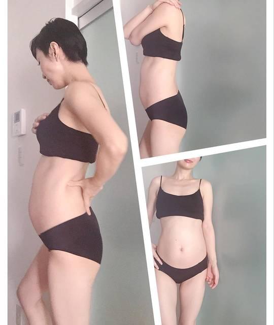 """YUKO on Instagram: """"ぽこぽこ7カ月突入👼🏻 日に日にお腹がずっしりしてきました。  yogaやトレーニングのおかげもあり腰痛や浮腫みなどのマイナートラブルは殆どなく妊娠中もレッスンさせて頂けてるスタジオや生徒さんに感謝。  そして元気に健康で産まれてきますように ✴︎妊娠前best体重…"""" (97134)"""