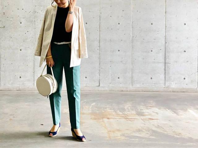 UNIQLO新作はチノパンでもきれいめ。 | 35歳からのプチプラを品良く着こなしたいファッションブログ (98015)