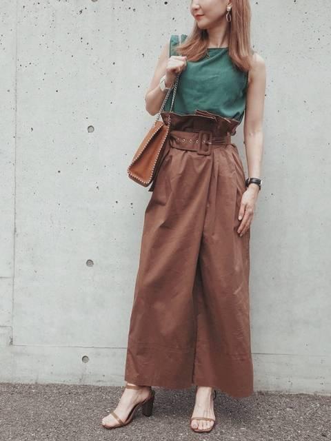 yukiko|Re:EDITのTシャツ・カットソーを使ったコーディネート - WEAR (99389)