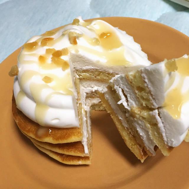 """すぎこ on Instagram: """"やりよるわ。#コンビニスイーツ #セブンスイーツ #uchicafe #ココナッツミルククリームのパンケーキ"""" (100060)"""
