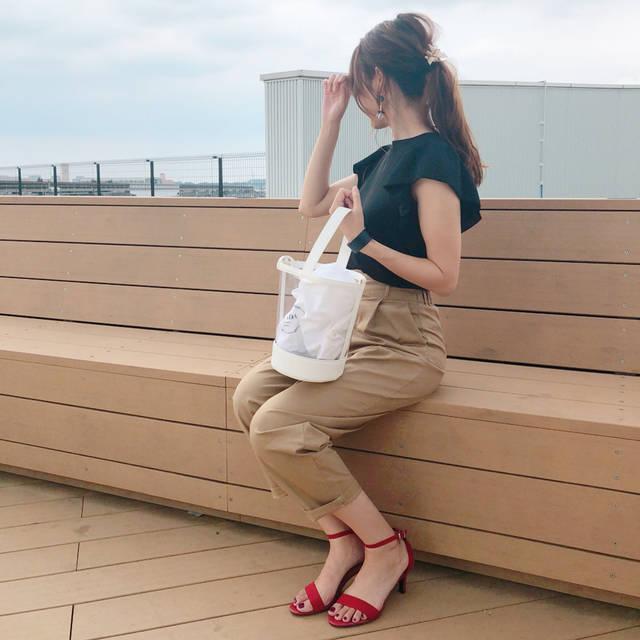 """maki☺︎ on Instagram: """"♡ こんばんは☺︎ . . #いつコ . . GU新作のグルカパンツ❣️ @roofa_fashion さんにて、 @saki____219 ちゃんと着用した動画をupしていただきました😳🙌🏻💕 . .…"""" (100444)"""