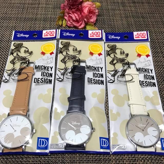 """あかね on Instagram: """"こんにちは(o^^o)いつもありがとうございます。伊勢原のダイソーで、時計を買いました❤️ #伊勢原市#伊勢原#伊勢原#ダイソー #ダイソー新商品 #ダイソー購入品 #ダイソー商品 #ダイソー時計#時計#腕時計 #可愛い #500円 #可愛い時計#可愛い腕時計#ありがとう"""" (100841)"""
