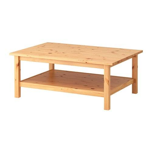 HEMNES ヘムネス コーヒーテーブル - ライトブラウン  - IKEA (101025)