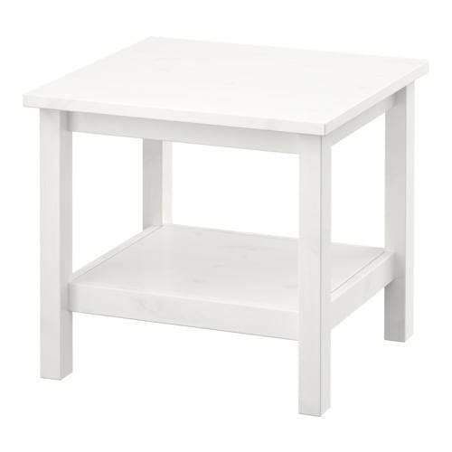 HEMNES ヘムネス サイドテーブル - ホワイトステイン  - IKEA (101028)