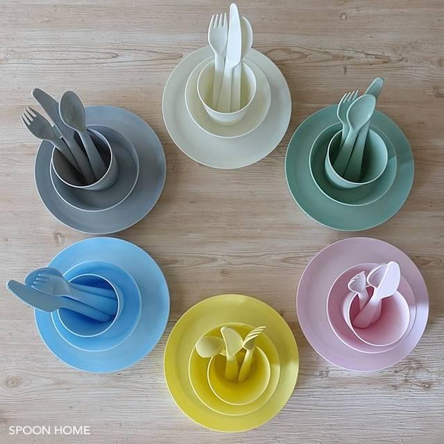 """ぱんくま on Twitter: """"IKEAのプラスチック食器「KALAS」に新色が登場。パステルカラーのボウルやお皿が可愛い https://t.co/ozRHvdArRi1セット199円、4種類揃えても796円✨食洗機&電子レンジもOKです😊これは買ってよかった!(IKEA久々のヒット)… https://t.co/fC9oQKOwUr"""" (101049)"""