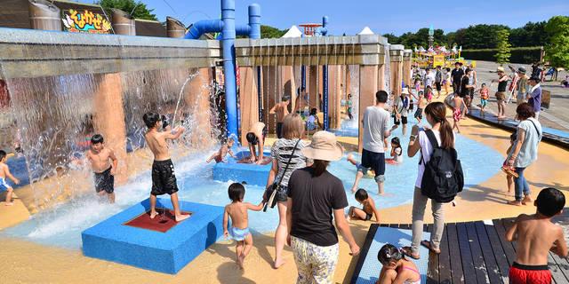 水遊び広場オープン – 国営ひたち海浜公園 (101330)