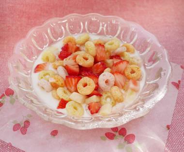 フルーツヨーグルト|離乳食レシピ|プレママ(妊婦)・ママ情報なら和光堂わこちゃんカフェ (101880)