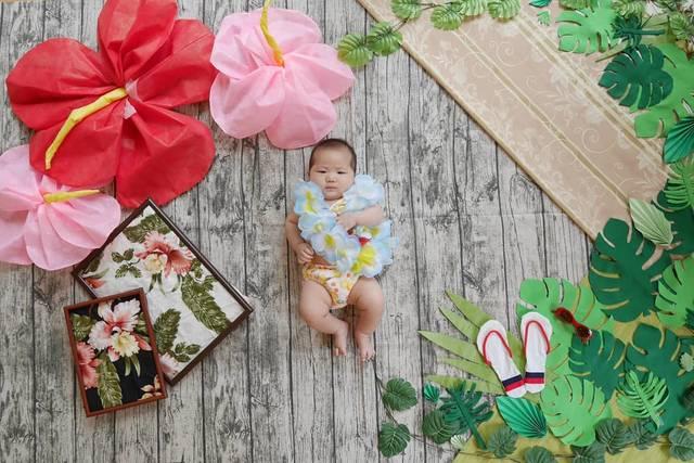 """Ayako Sato on Instagram: """"毎月行っている、 おひるねアート×パレットプラザ撮影会  8月は夏か秋のどちらかのアート… 夏女の私は、夏アートで撮影会を行います!  猛暑の毎日ですが、 そんな夏の思い出を 赤ちゃんの成長と共にアートの中に留めてみませんか?  水着や甚平、アロハ衣装、…"""" (102873)"""