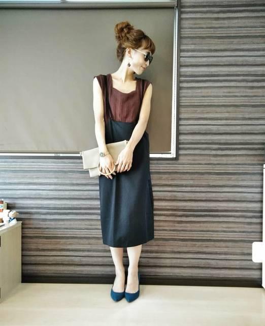 """aiko on Instagram: """"こんにちは♡ 私が履いてる靴は @gu_for_all_ さんの新作マシュマロパンプス(ポインテッドパンプス) ベーシックなデザインが魅力のポインテッドパンプス。 日頃、ヒールなどは履くことがないのですが、 guのポインテッドパンプスは、…"""" (103700)"""