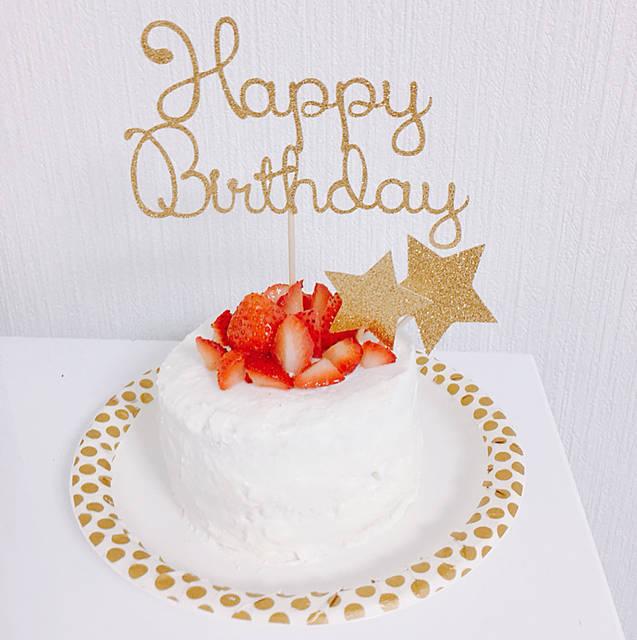 """のんちゃん on Instagram: """". . 誕生日post🎂②. . . スマッシュケーキ用にヨーグルトケーキを作りました🎂💕間にさなの好きなフルーツいっぱい挟んで、旬じゃない苺がどこにも売ってなくて必死で探した(笑). . ケーキトッパーは@andpapertokyo 様の😍💕 . .…"""" (104065)"""