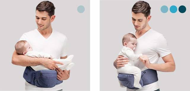 Amazon | 【ベビーアムール】Bebamour 簡単デザイン 抱っこひも たためるヒップシート ベビーキャリー アルミ製支柱 3way ベビー用品 収納袋付き 臀部シート(ダークグレー) | 抱っこひも | ベビー&マタニティ 通販 (104655)