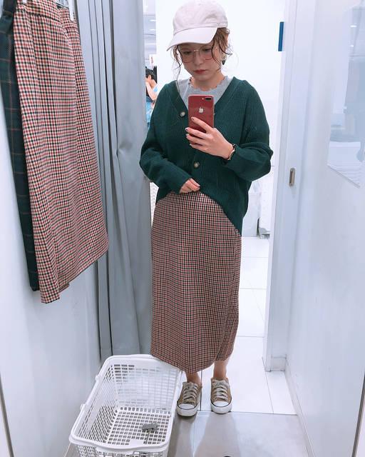"""ともちん on Instagram: """"#試着室からこんにちは 🤤スワイプで購入品❤️ 、 昨日 めちゃんこシャレおつ センスが大好きすぎる @ayamiii.y.m さん の#gu 試着#ストーリー 見て🙈💕 、 物欲の虫がナウシカのオームの大群の様!! 🐛🐛🐛🐛🐛🐛🐛🐛…"""" (105535)"""