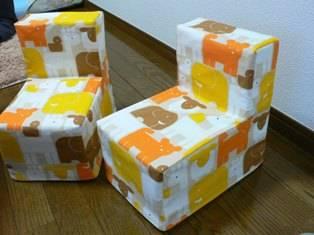 牛乳パックの椅子 作り方編 | 日々のこと。 双子のこと。 (107578)
