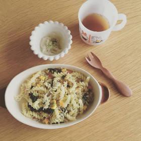 離乳食完了期 しらすのバター醤油パスタ by pomamai 【クックパッド】 簡単おいしいみんなのレシピが297万品 (108716)