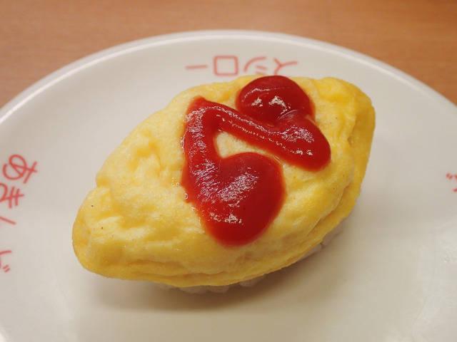 【マジかよ】スシローの「オムライス寿司」が超絶美味 / ゲテモノかと思って食べたら奇跡のウマさだった | ロケットニュース24 (109143)
