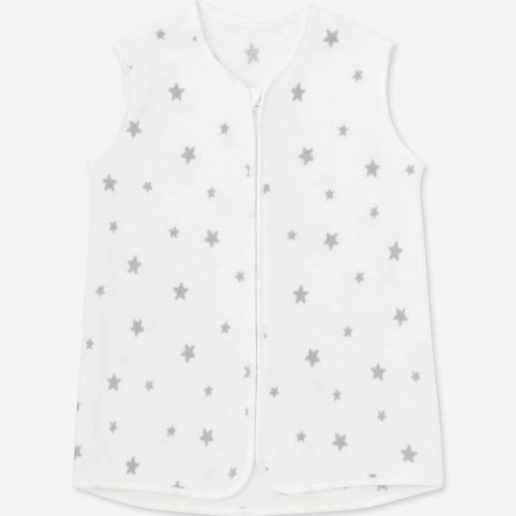 ユニクロ|ストレッチマイクロフリーススリーパー(スター)|BABY(赤ちゃん服)|公式オンラインストア(通販サイト) (110031)