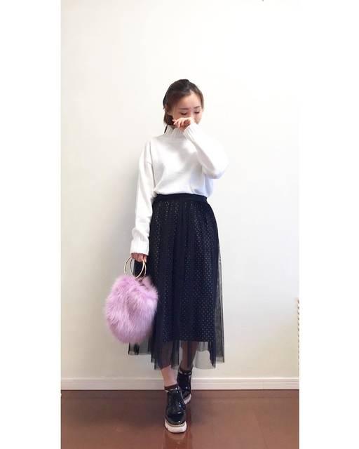 "Miki ♡ on Instagram: ""* #coordinate ・ #トレマフィリンク 👑 @roofa_fashion @trendmafia_byroofa  TRENDMAFIAメンバーが 同じアイテムを使って 遠隔リンクしてるよ💓 ・  今回は @gu_global #オーバーサイズハイネックチュニック…"" (111972)"