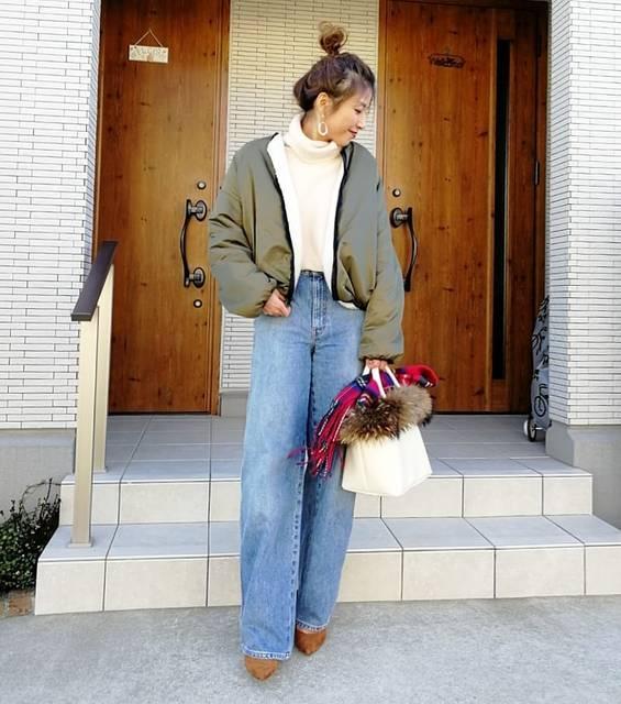 """aicoco on Instagram: """"✳︎ ✳︎ ✳ ✳ ✳ ✳︎ Today's outfit ✳︎ ✳︎ ✳ ✳ インスタでも大人気なuniqloUの #ハイライズワイドストレートジーンズ ★ ✳ ✳ 似合うかなぁと試着してみたら シルエットがタイプすぎて迷わずお持ち帰り☻♡ ✳ これ可愛すぎる〜♡♡♡ ✳ ✳…"""" (114799)"""