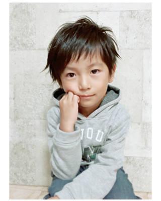 キッズ☆男の子☆束感ショート:L007678922|アムールマヤのヘアカタログ|ホットペッパービューティー (116368)