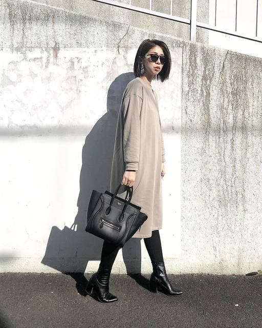 "Mana Oiwa on Instagram: "". Onepiece / @gu_global  Bottoms / @zara  Shoes / @gu_global  Bag / @oldceline . #instagood #instafashion #instalike #ootd #outfit…"" (116779)"