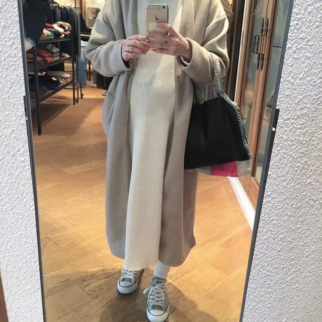 "kii. on Instagram: "". . . ベージュ×ホワイト 🐑 . . . #outfit#ootd#code#fashion#instagood #instafashion #instapic…"" (117849)"