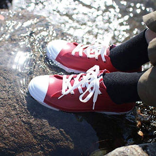 Amazon|SPICE OF LIFE 雨靴 レインスニーカー ホワイト Mサイズ(23.5cm~24cm) PVC レディース JSLK1010MWH|SPICE(スパイス) - スリッパ 通販 (125145)