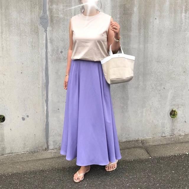 """@marivo0115 on Instagram: """"・・連続で失礼します💦・・またまた@uniqlo の#マーセライズコットンt ✨✨・・tops #uniqlo skirt #razielblue bag #hayni sandal #zakkabox ・・詳細はブログに書いてます☺︎✏︎"""" (125607)"""