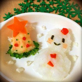 離乳食*中期〜♡簡単クリスマスプレート by RKくんママ 【クックパッド】 簡単おいしいみんなのレシピが318万品 (128864)
